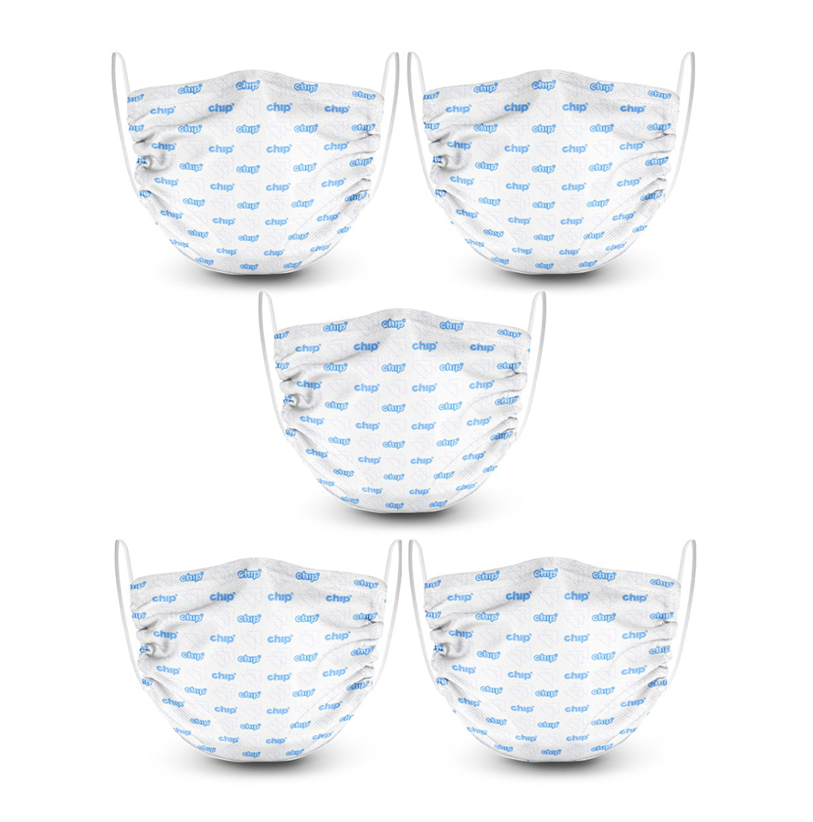 2 Layer Face Mask - 5 Pack Image