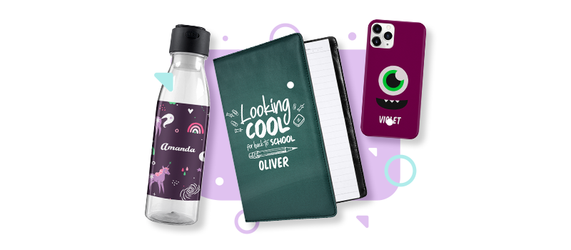 Back to school personalization products
