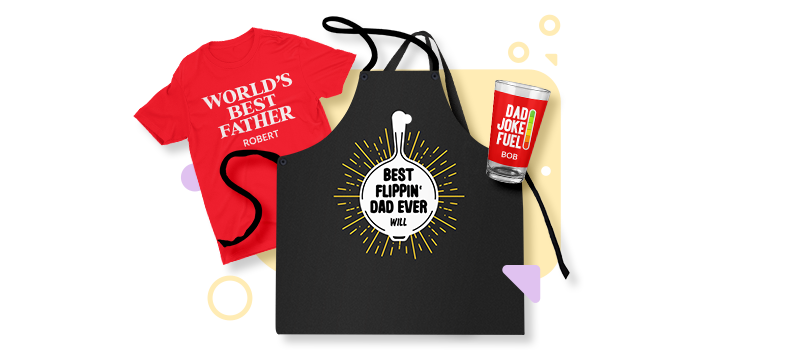 Father's Day personalization products