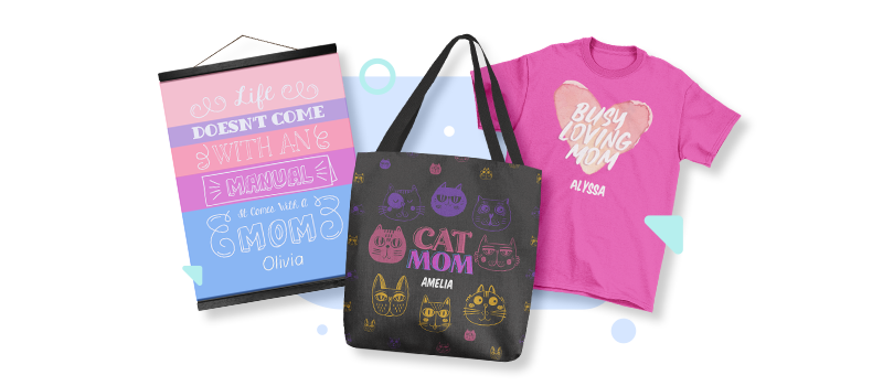 Mother's Day personalization products