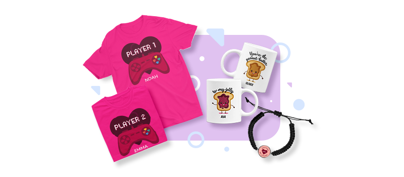 Valentine's Day Personalization products
