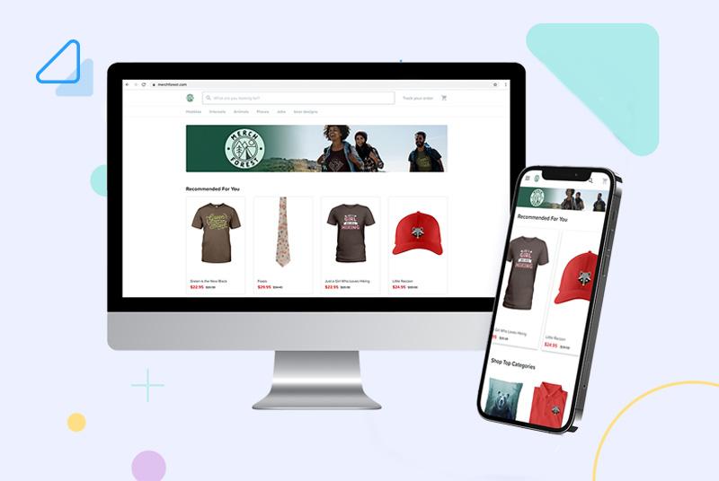 Custom Domain on desktop and mobile