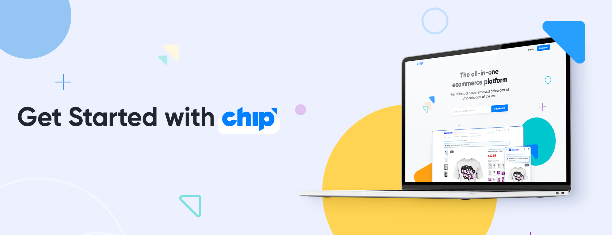 Get Started with Chip banner