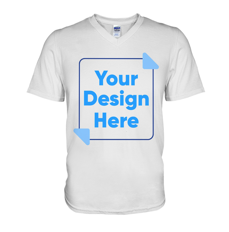 V-Neck T-Shirt Image
