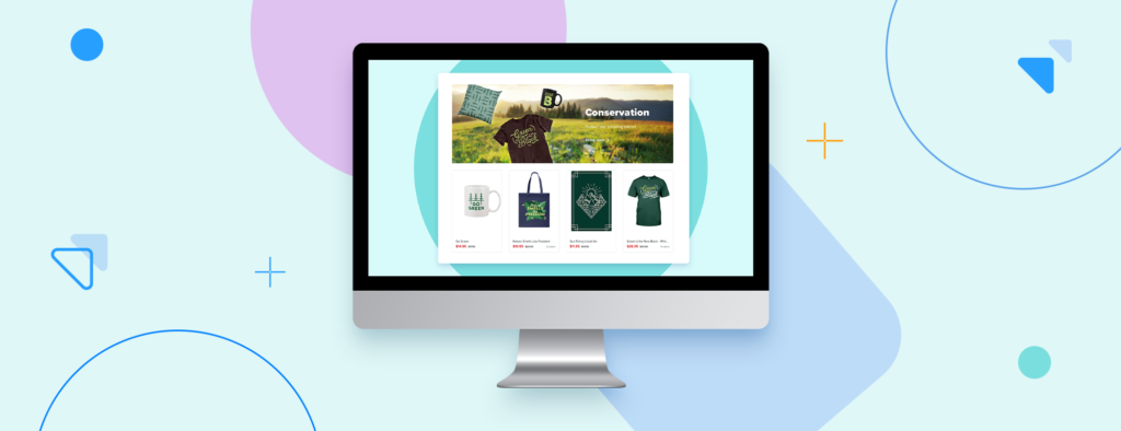 Custom domain settings header image