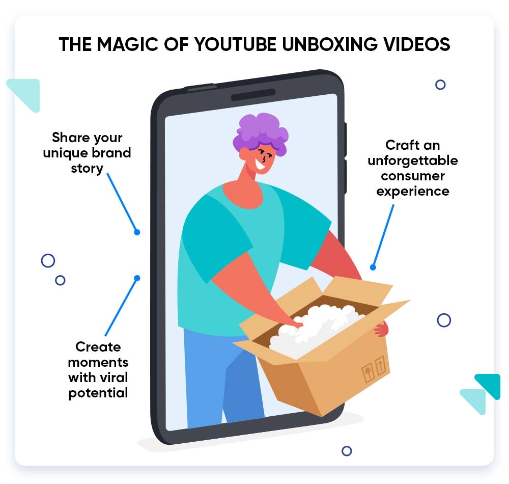 Tips to advertise your product with YouTube unboxing videos.